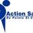 Logo bleu  actionsante