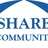 Share logo   reflex blue
